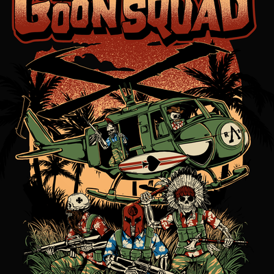 The GoonSquad T-shirt design