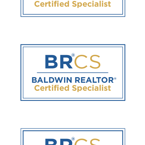 Real estate logo with the title 'REALTOR Association Logo'