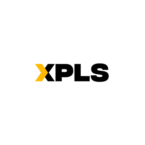 Moving logo with the title 'Logo for XPLS Logistics'