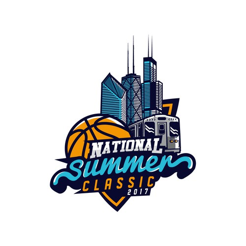 Tournament logo with the title 'National Summer Classic'