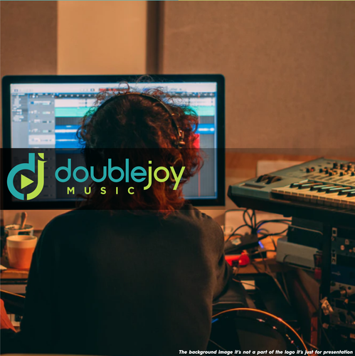 Logo with the title 'Double '
