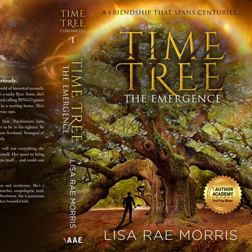 Fairy tale design with the title 'Time Tree Chronicles - The Emergence'