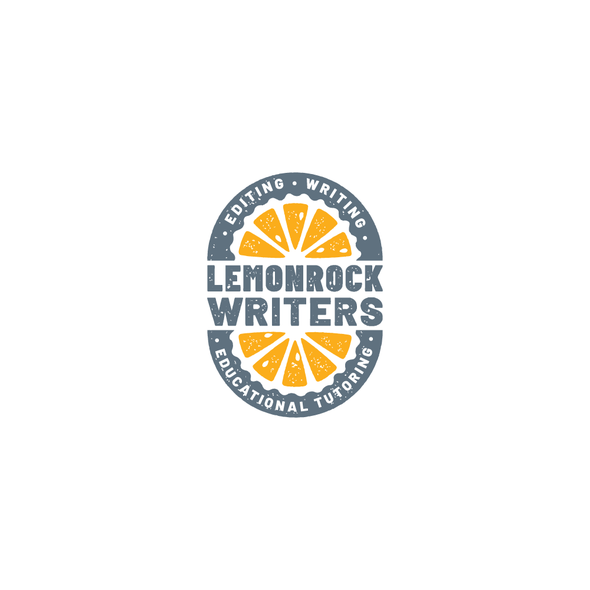 Tutoring logo with the title 'When life gives you lemons'