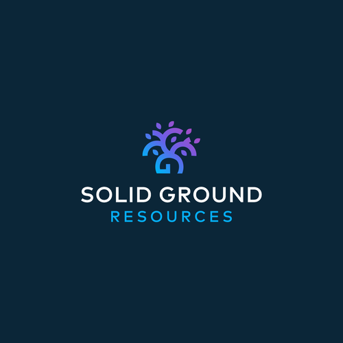 Solid design with the title 'Solid Ground Resources'