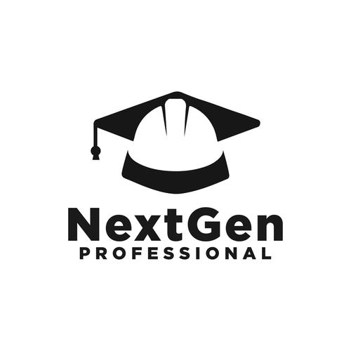 Graduation cap design with the title 'NextGen Professional'