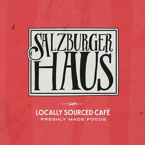 Restaurant logo with the title 'Salzburger Haus Logo'