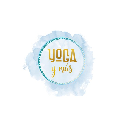 Serenity logo with the title 'Yoga y mas'