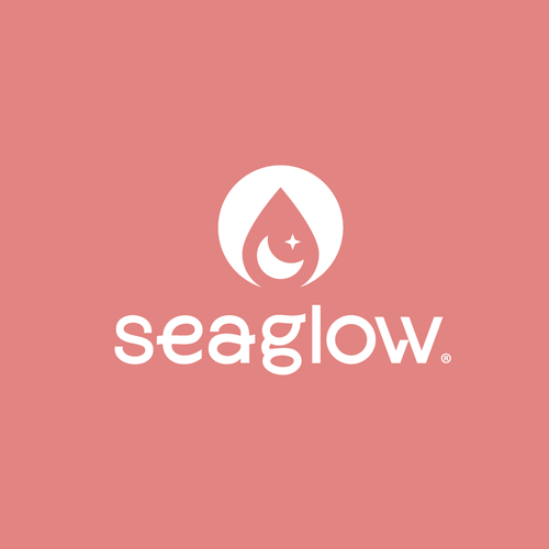 Flood logo with the title 'seaglow'