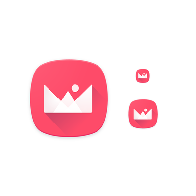 Icon design for Wallpaper app