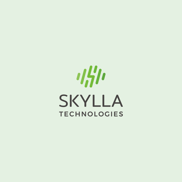 Weather design with the title 'Energetic logo for robotic startup: Skylla Technologies'