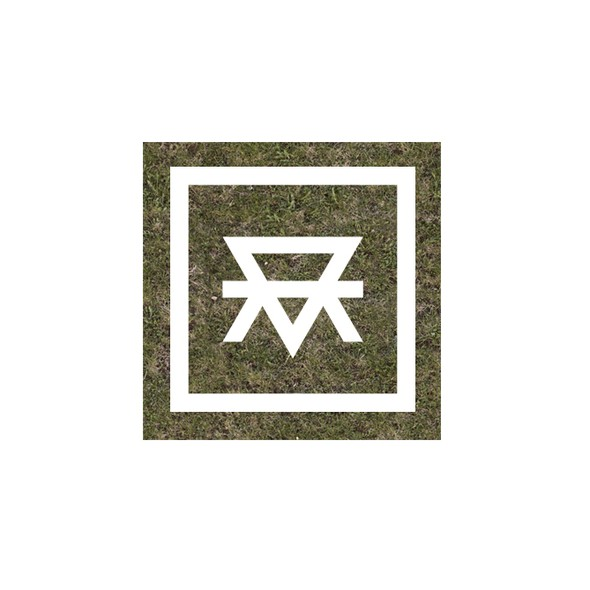 Mother design with the title 'Unique masculine monogram for MotherEarth'