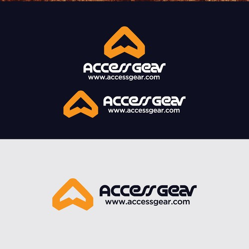 Outdoors design with the title 'Bold logo for Accessgear'