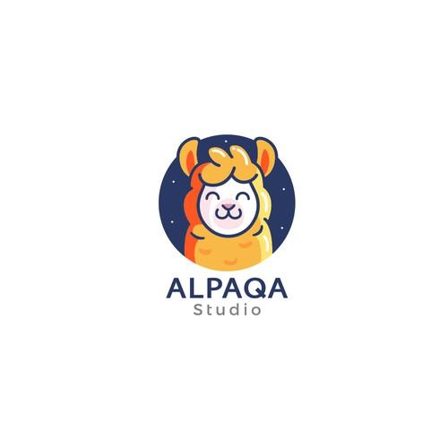Alpaca design with the title 'Alpaqa Studio'