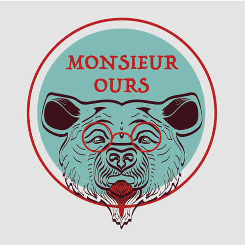 Mr. logo with the title 'Logo Concept for Monsieur Ours'