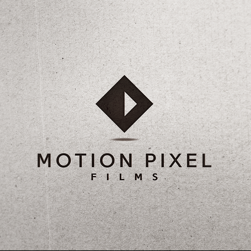 Video design with the title 'Modern, simple and sharp logo for Motion Pixel Films'