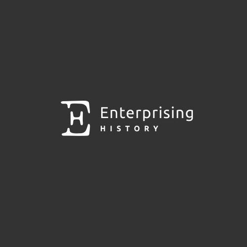 "B2B logo with the title 'Logo for ""Enterprising History""'"
