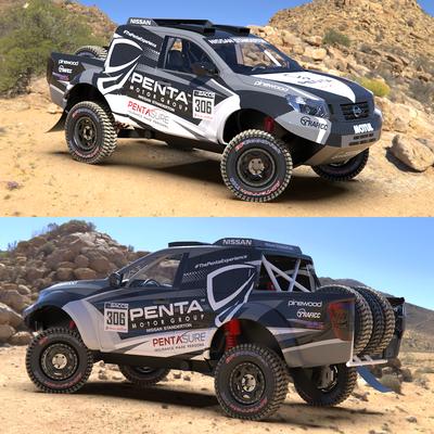 DAKAR Rally Vehicle Design