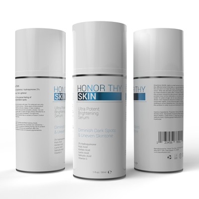 Label design for skin care product
