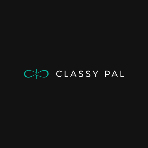 Turquoise design with the title 'Classy Pal'