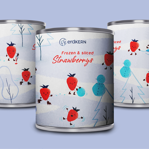 Packaging illustration with the title 'Illustration for packaging'