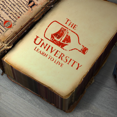 Ship logo with the title 'Logo for an educational youtube channel'