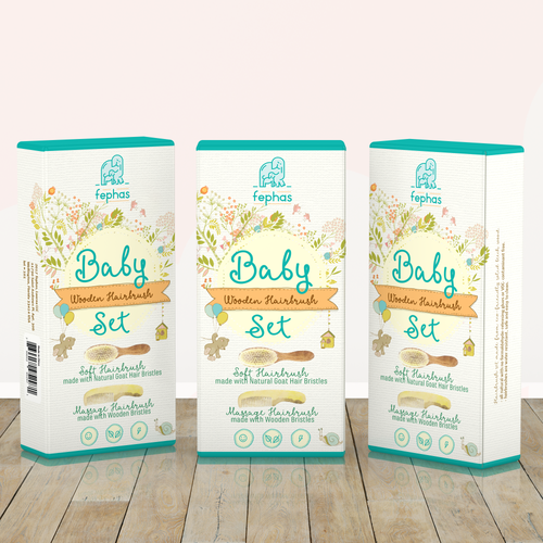 Professional packaging with the title 'Packaging design'