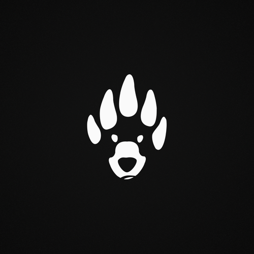Paw logo with the title 'Iconic Clothing Brand'