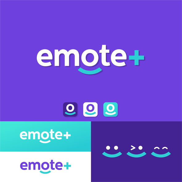 Platform brand with the title 'Emote+'