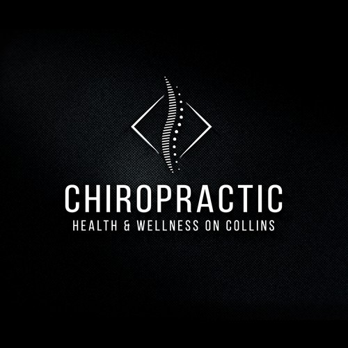 Spine logo with the title 'Modern hi-tech Chiro office in Melb. CBD looking for a sophisticated creative & artistic logo..'