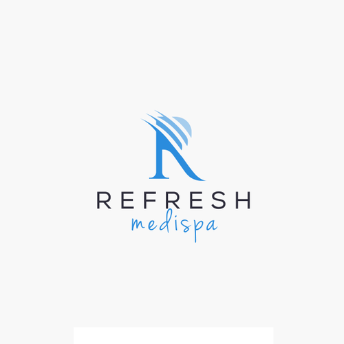 Refreshing design with the title 'Logo Concept for REFRESH MEDISPA'