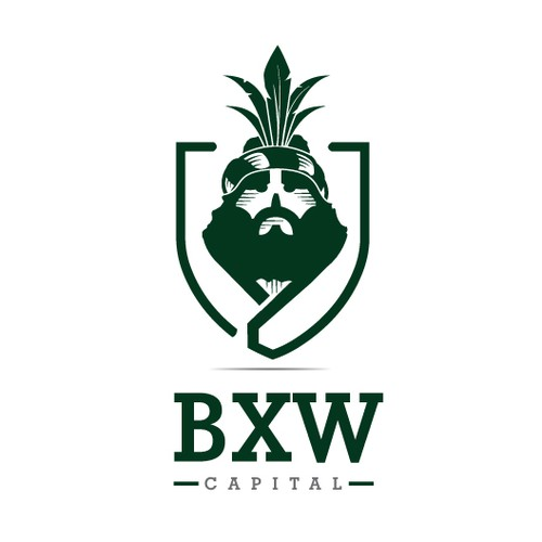 Capital brand with the title 'Crest Logo For a Financial Company'