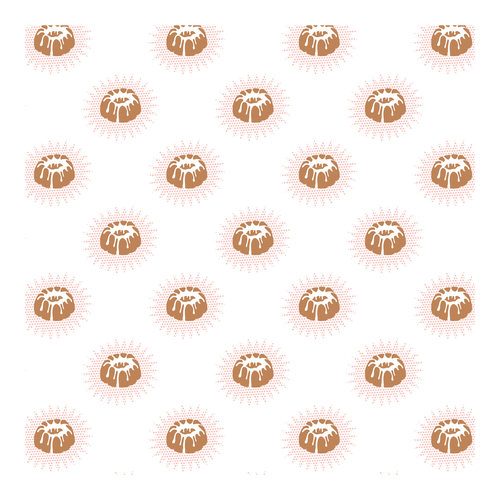 Pattern logo with the title 'Pattern design from logo'