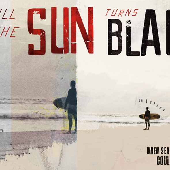 """Grunge design with the title '""""Till The Sun Turns Black"""" Social Media Graphics'"""