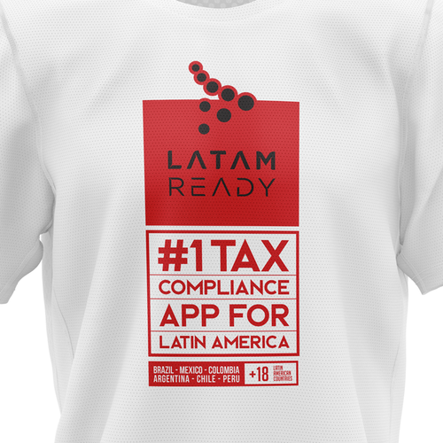 Computer t-shirt with the title 'LATAM Ready'