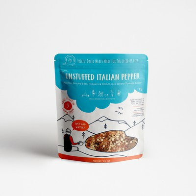 Adventurous package for meals for busy life