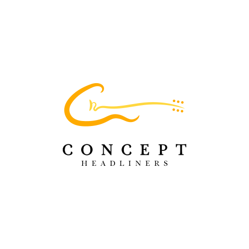 Guitar brand with the title 'Concept Headliners'