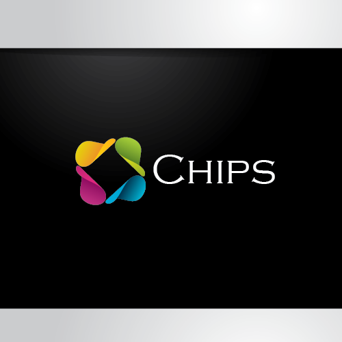 Retail logo with the title 'Chips! not to eat, but to get your life connected!'
