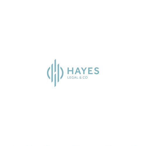 Advocate logo with the title 'Hayes Legal & Co'