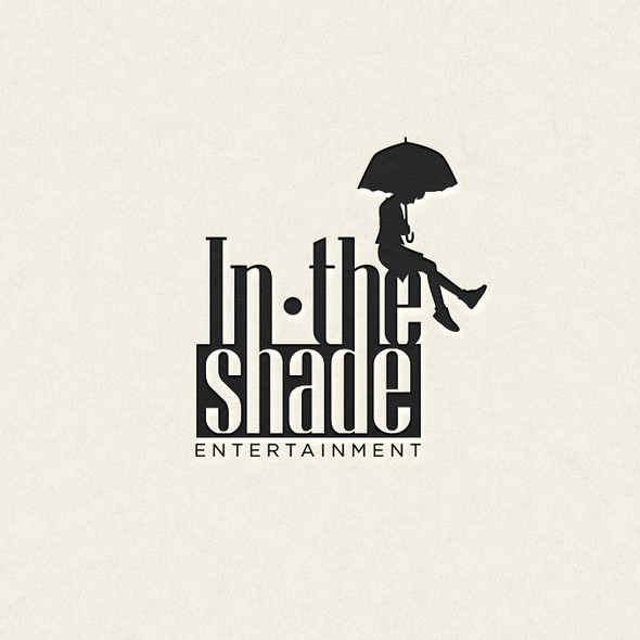 Shading design with the title 'In the Shade Entertainment Logo '