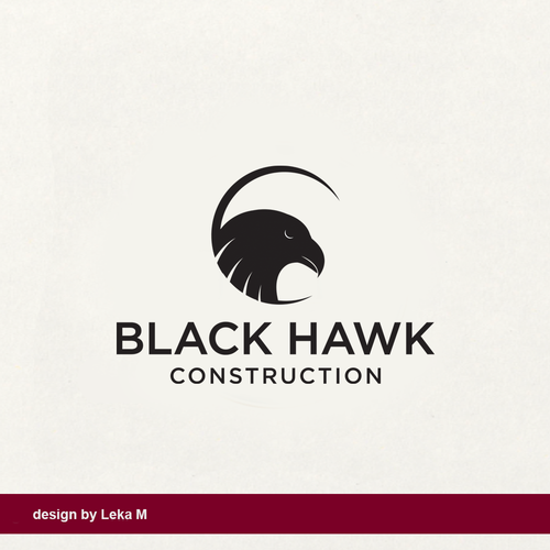 Simple design with the title 'BH Construction'