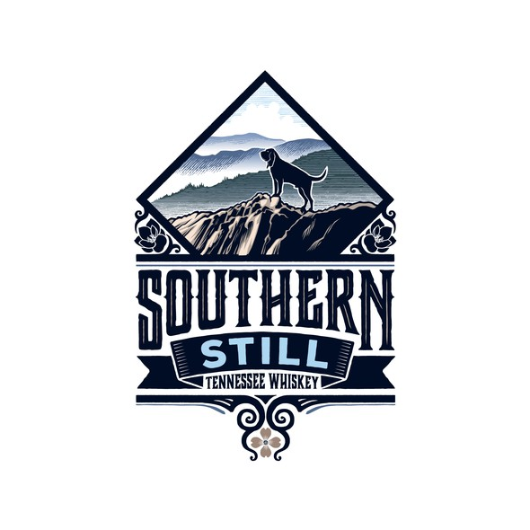 Hound design with the title 'Southern Still'