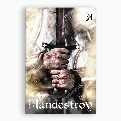 Fog design with the title 'Book Cover for Mandestroy'