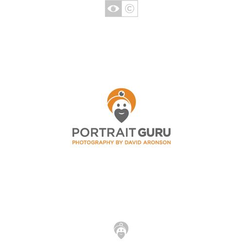 Guru logo with the title 'Portrait Guru'