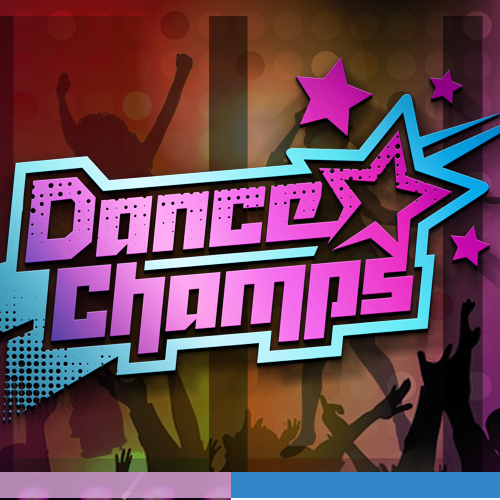 Disco design with the title 'Dance Champs needs your help to create a fresh & powerful logo'