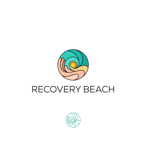Abstract brand with the title 'A luxury logo drug and alcohol treatment center in Southern California'