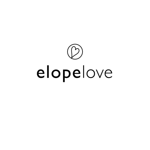 Wedding planning design with the title 'Logo for Elopement Wedding Planning Company'
