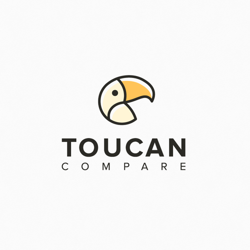 Toucan design with the title 'Toucan Compare'