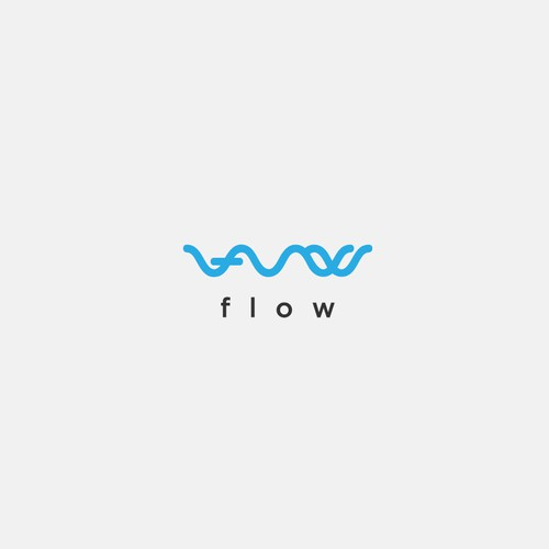 Flow logo with the title 'Flow Rowing'