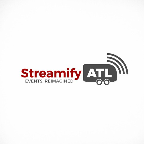 Streaming design with the title 'streamifyATL'