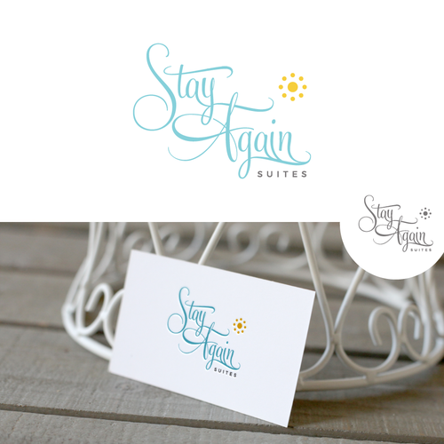 Suites logo with the title 'Logo for Stay Again Suites'